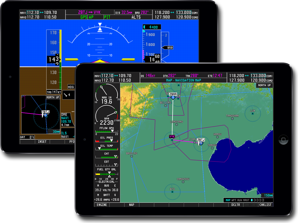 AIR C74 NET • View topic - Garmin G1000 for X-Plane (iPad)